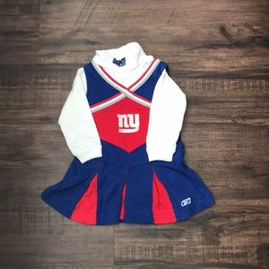 New York Giants  cheerleading outfit